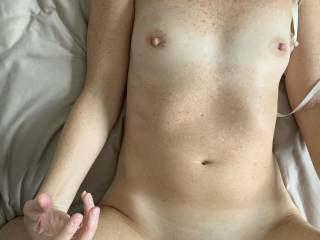 She is happy to be fucked and I am happy to fuck her!