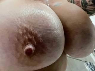 Would you like to suck on her nipples