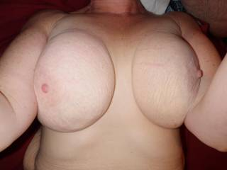 Can I be next please. I would love to blow a huge load all over them big juicy tits after she sucks my cock for a longtime