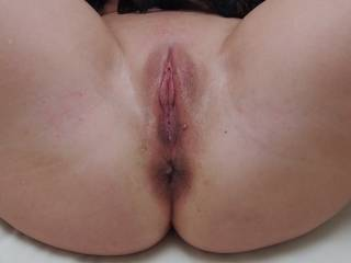 nice pussy but what a sexy ass. A dark ass is such a turn on