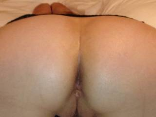 Wow, what a delicious view, yes me i would love to stuff that hot tight ass full of my thick curved cock, then exploding my cum balls deep inside