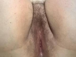 Wife\'s hairy pussy