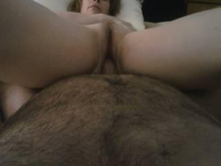 having me inside her beautiful warm pussy
