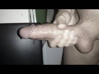 Some of my better cumshots. When I build it up, I can really unleash a long continuous stream of my sex juices. With a real partner, just once is never enough, either.