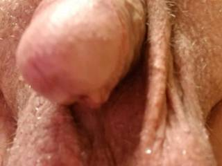 fresh out of shower, clean cock and balls, yum