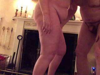 The evening started with some serious foreplay by the fireside. soon after mrs display squirted for th3 very first time. Love was really in the air tonight.