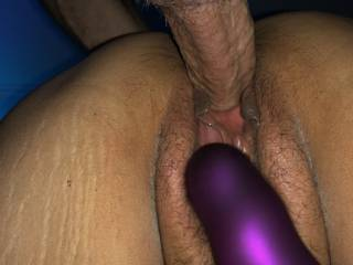 Nice view when he fucks her wet pussy doggystyle