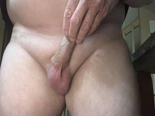 Showing my Balls @ rest, with Small Dick