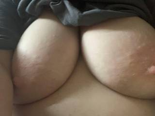 Another tit selfie. You guys like these right?