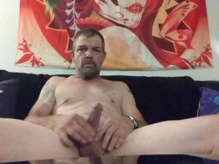 I had a little extra time so I decided to strip my clothes off and get a nut damn it feels so Good to cum