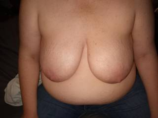 Put your face in between my big tits