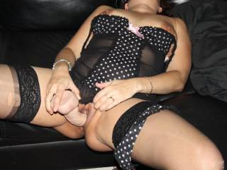 I think you look hot and sexy masturbating with your dildo.  I'd love to watch and help you get yourself off sweetie.  G