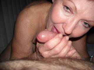 she just loves to suck my cock