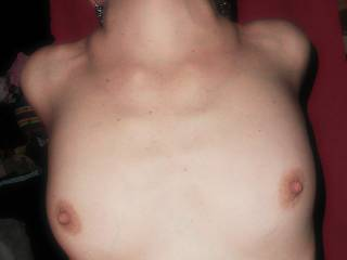 I could give those beautiful nipples a daily cum bath and never get tired of it .