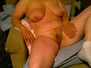 Love to dive into her pussy,love her hot legs and tits,she is beautiful!!