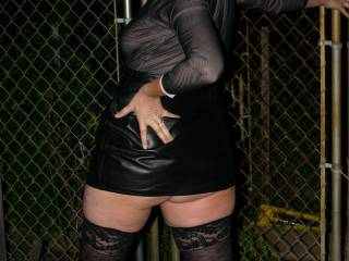 Outdoor spanking, cool, would love you over my knee, skirt up, then spankink your beautiful sexy bum, mmm get those cheeks nice hot and red. xxxxxxxxxx,s.