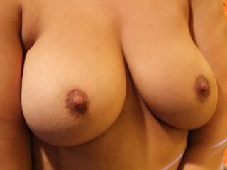 Pregnant tits (ex friend\'s wife)