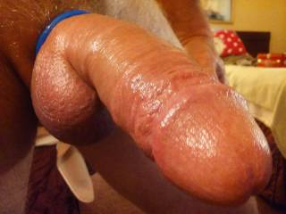 My fat cock....Just hanging out.