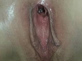 Wet loose pussy