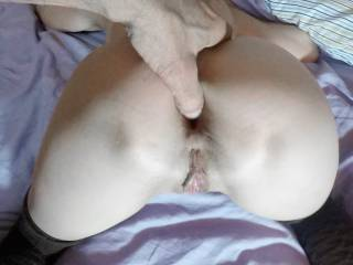 """""""Looks like Annie is wanting me to get some photos to post for today."""" """"The camera's right there where it usually is, Joe. Right now all I'm wanting is your hard cock going off deep in my ass!"""""""