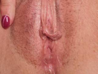 New fuck friend showing off her sexy little pussy.
