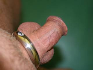 my little pp would hardly stress you, but i would fuck you and pull out and come up the crack of your pretty little ass! love the cock and its ring...