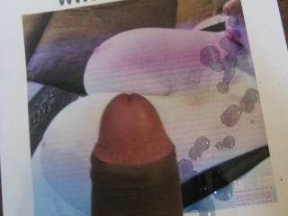 a nice shot of precum, want some?