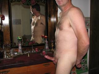 Great pic.  Your cock looks a lot like mine.