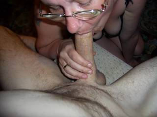 oh god I just love her hot mouth wrapped around my cock