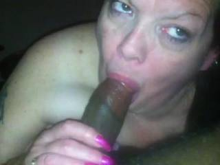 How could anyone ever get tired of seeing not only interracial sucking, but also an older woman with a young man? If only more women went after us young guys like you ;-)