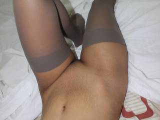 Rochelle in sexy nylon stocking, i looking forward to fuck her again :-)