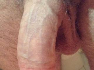 My cock after a long gym session, still soft but waiting on any member to ask me to blow a load....going to try and post on here more. Does anyone like what they see?;)