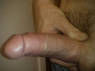 Hubbys big  pretty cock I want to share!!