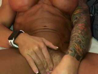 Sometimes he makes me masterbate until I cum before he'll feed my pussy his thick cock.