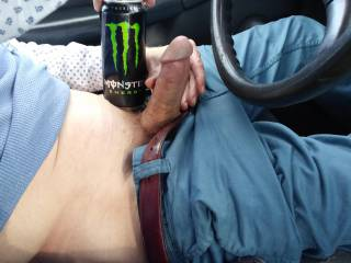 Went for a ride and my cock came out to play