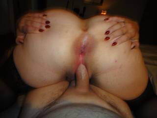 I had her spread her ass and cunt open to be used...she gladly did it and more