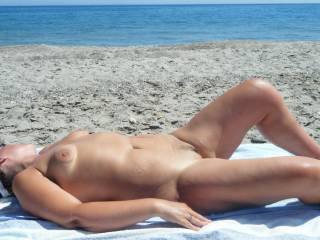 love your big nipples ,,were off to spain end of 2013 for 3-4 months ,totally naked holiday wonderful