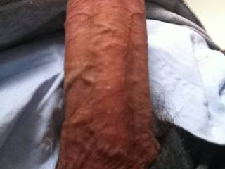 That's a fat cock!!!! Love to sit on it :)