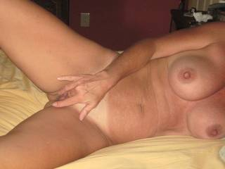 How would you like to watch her ride my brown cock....ill fly out there and fuck her for a weekend if you like to watch...