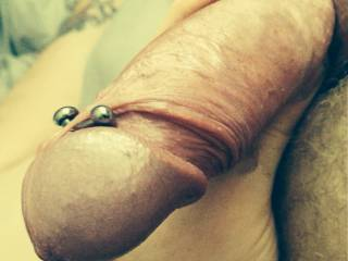 My hard pierced cock...you like?