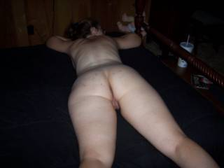 would be awesome to slip my cock in like this while i play with your hot tits!