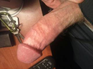 Shove your cock so deep down my throat that that is all that I can say.