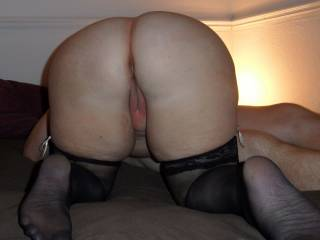 love to spread her ass wide open and suck her pussy then slide my cock up in both her fuck holes