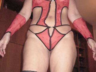 my new lingerie for her...