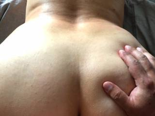 Grabbing my ass while fuck me bend over!!!! anyone after him?