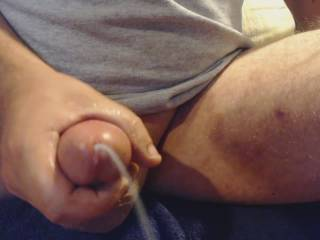 just stroking and blowing my load.