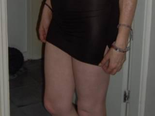 see through dress ! x