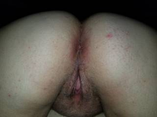 Enjoy the view after being filled with his cock