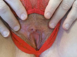 Let me show you were that tongue of yours should go. How about my hot, wet pussy? This married woman loves being eaten. It sends me in to orbit when a man's tongue darts about my luscious pink lips.