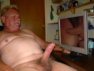 Cock sucking tit fucking makes me horny!